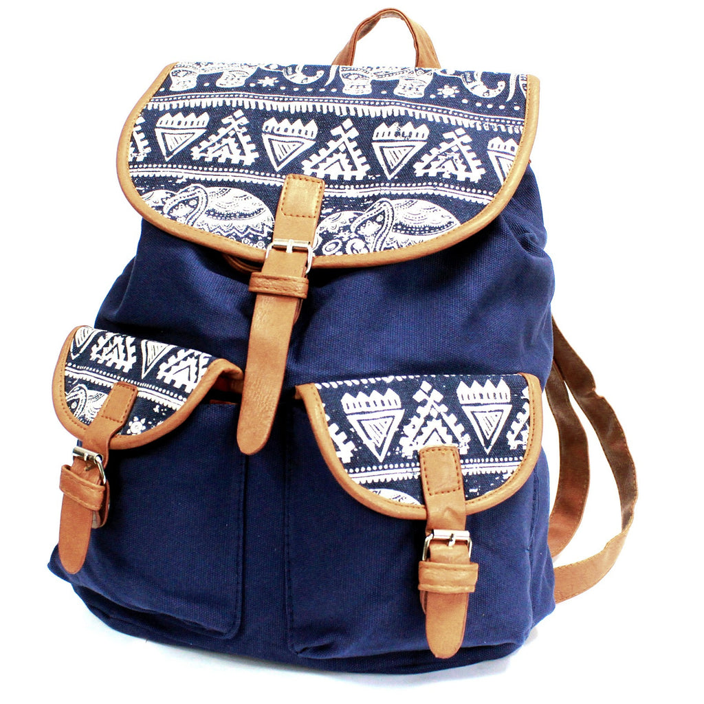 2 Pocket Blue Elephant Traveller Backpack