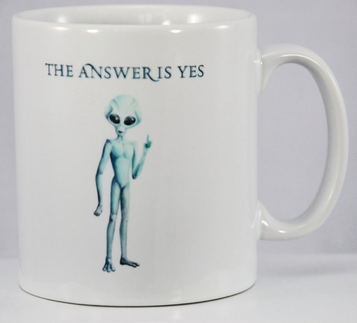 The Answer Is Yes - Mug