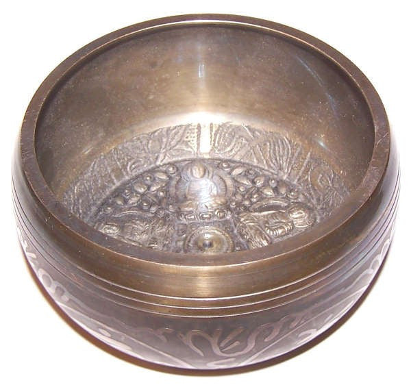 Large Five Buddha Singing Bowl