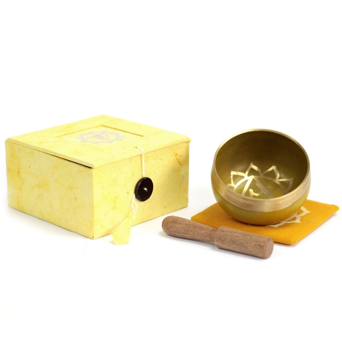 Tibetan Singing Bowl Set - Solar Plexus Chakra