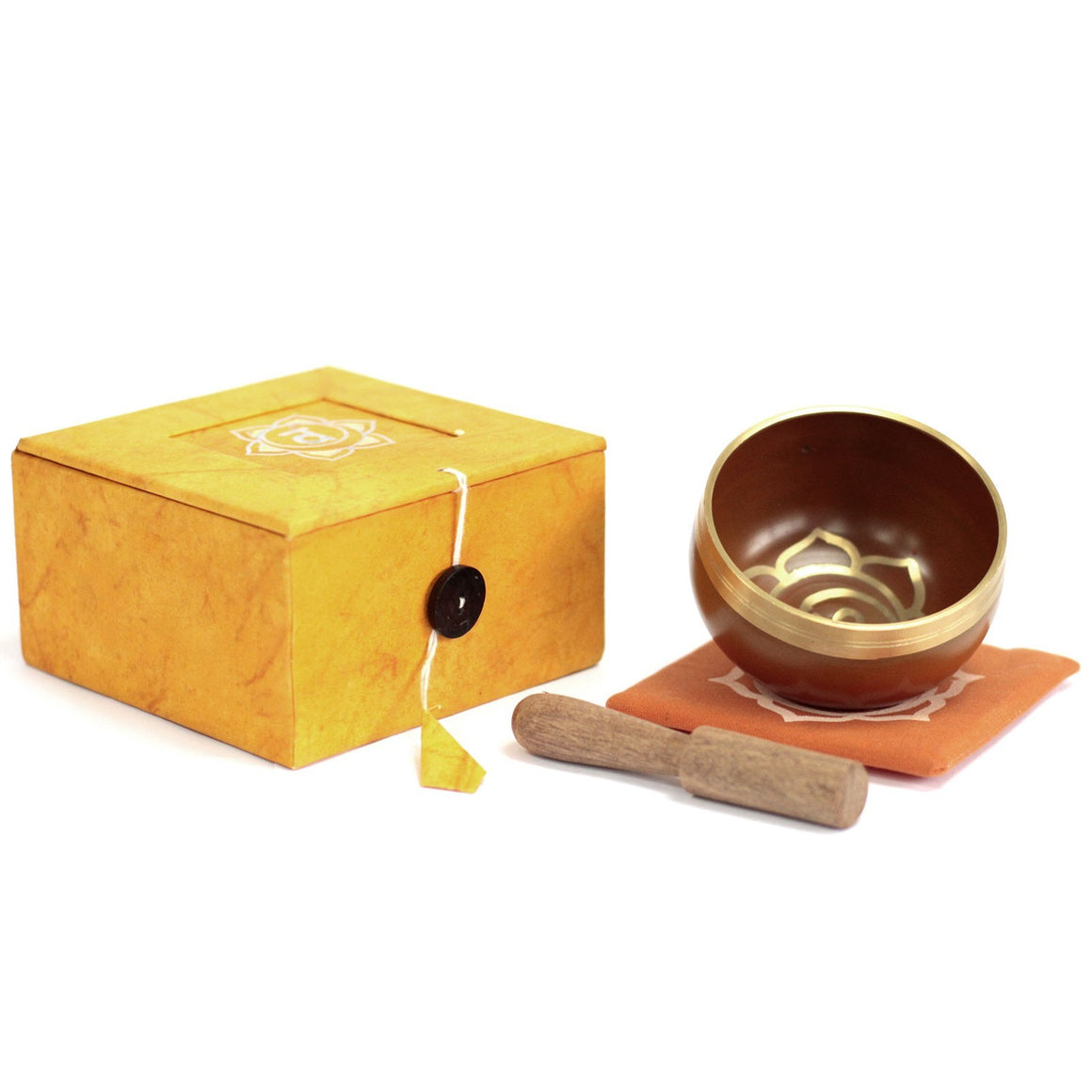 Tibetan Singing Bowl Set - Sacral Chakra