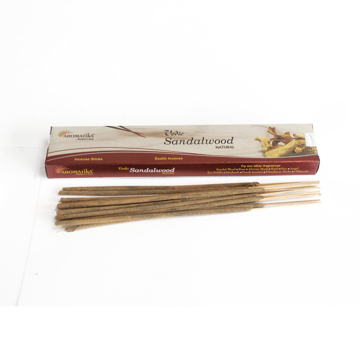 Vedic Natural Incense Sticks - Sandalwood