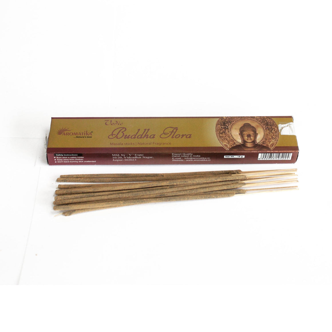 Vedic Natural Incense Sticks - Buddha Flora