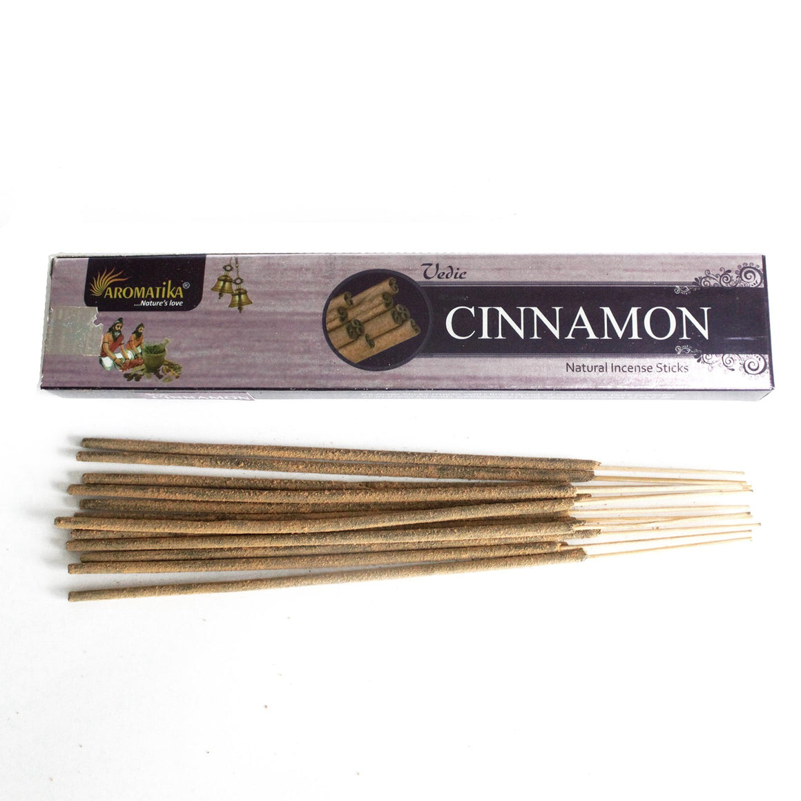 Vedic Natural Incense Sticks - Cinnamon