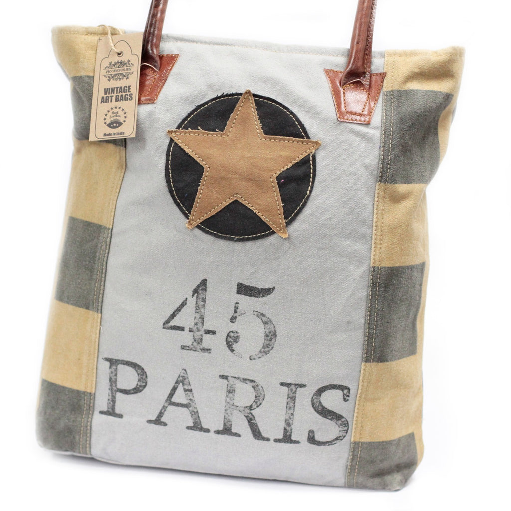 Paris Star Vintage Handbag