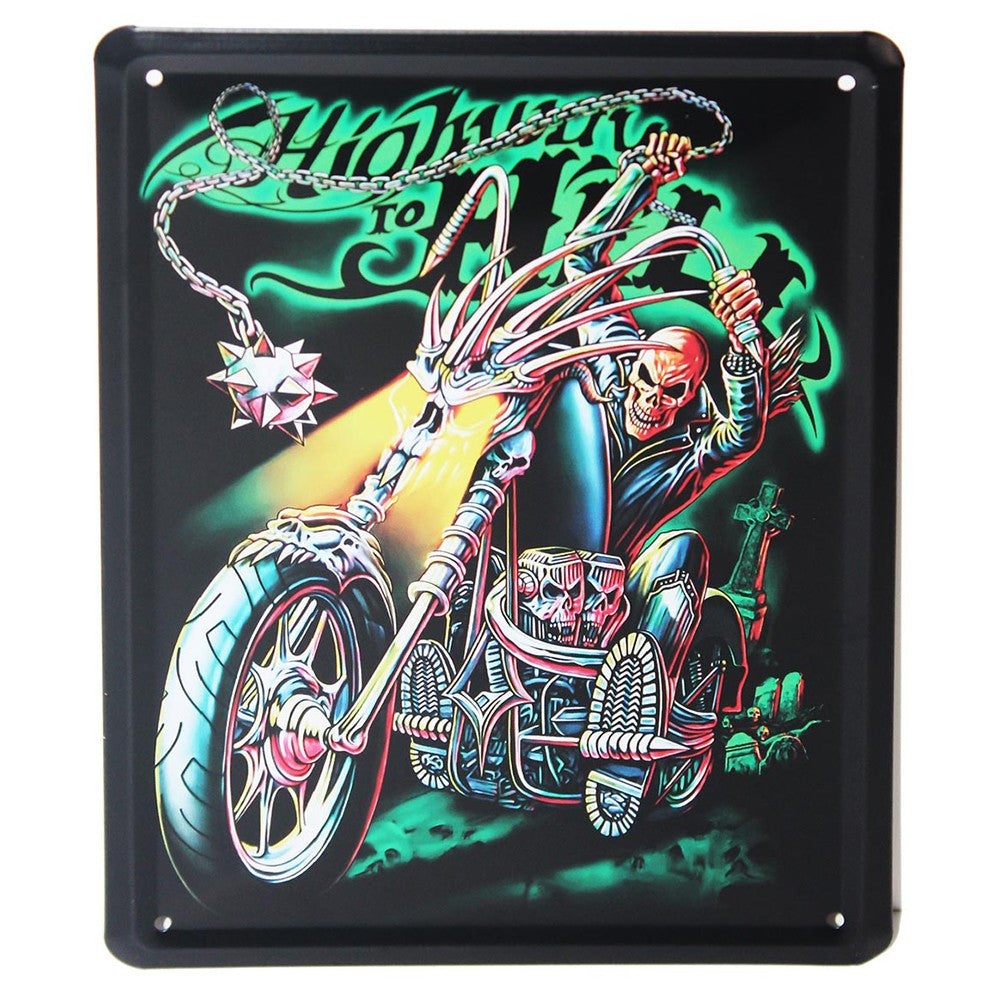Metal Plaque - Highway to Hell