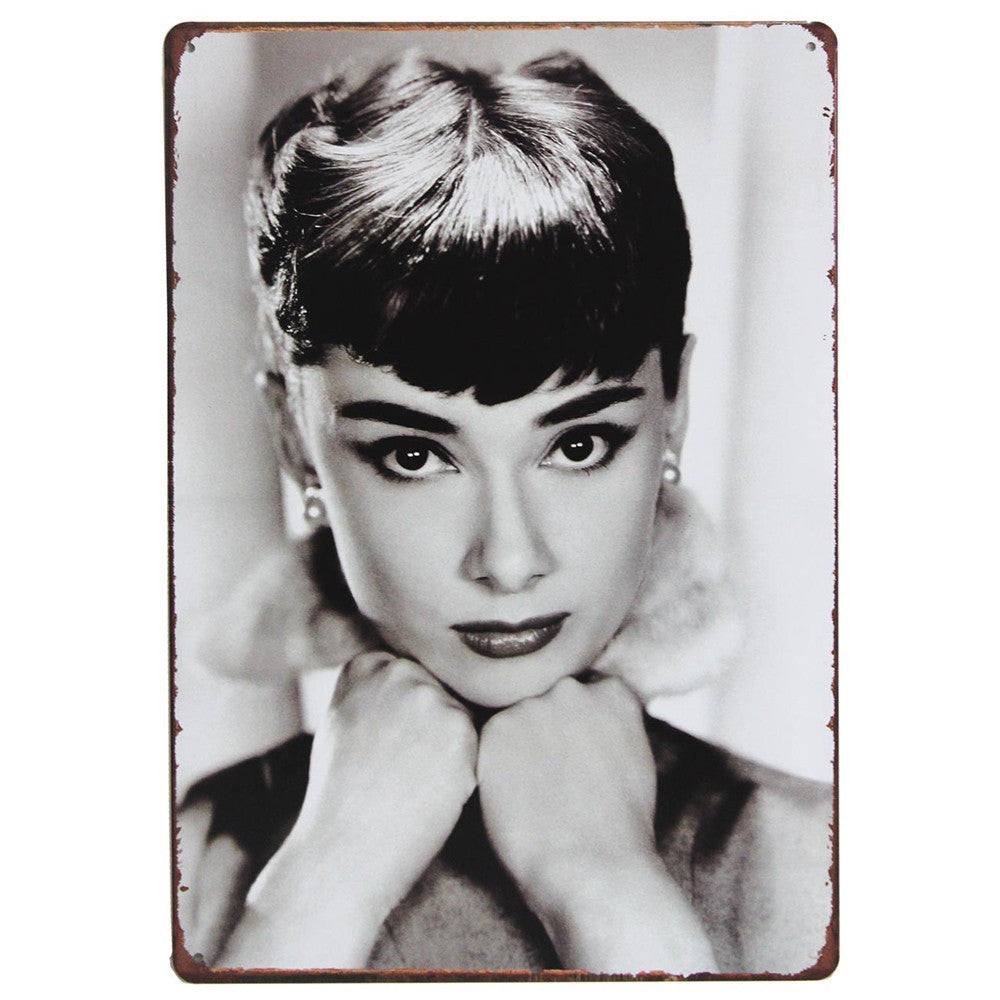 Metal Plaque - Audrey