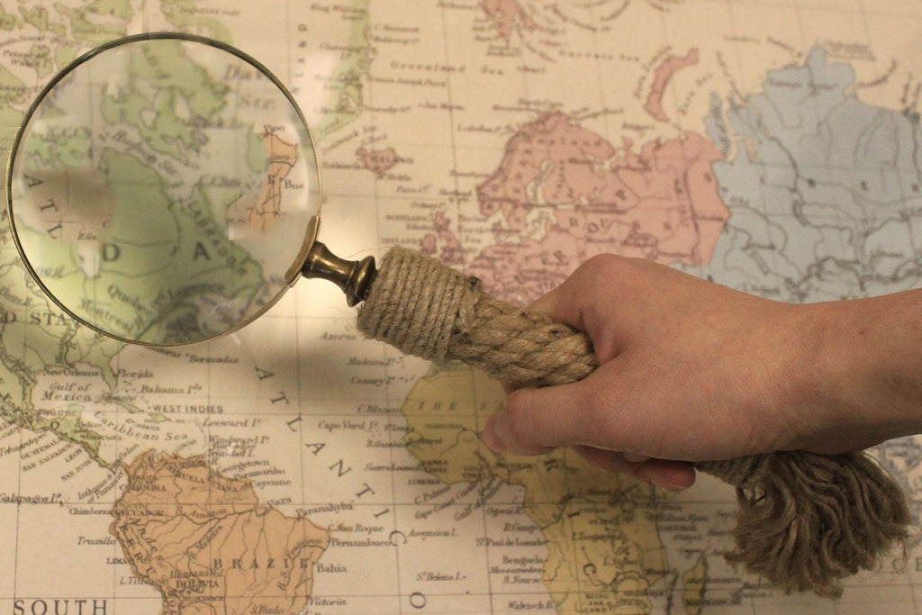 Vintage Magnifying Glasses - Rope Handle