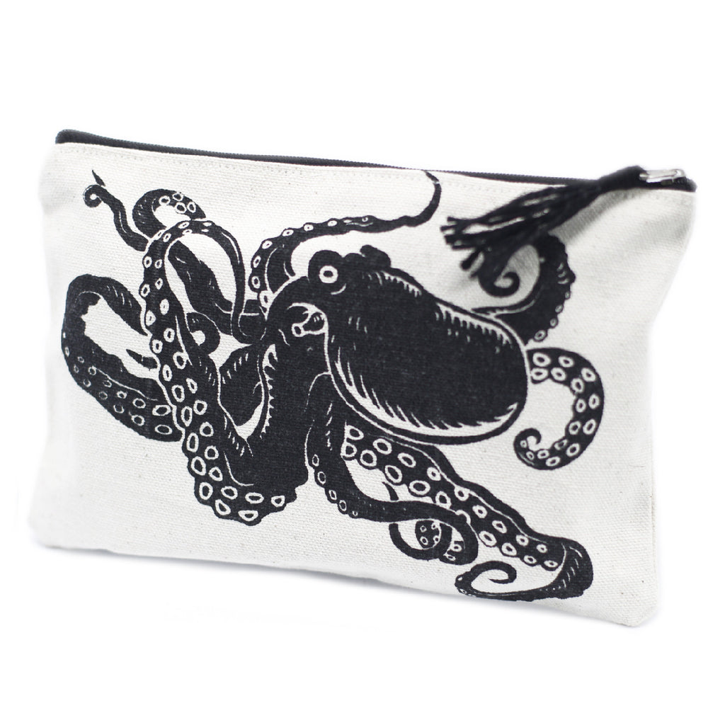 Classic Zip Pouch - Tentacles