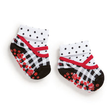 Set of toddler socks & ballerinas, black & white