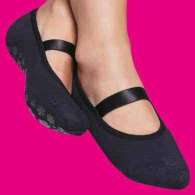 Basic adult ballerinas, plain black