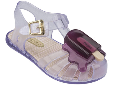 Mini Melissa Aranha VIII BB - Clear/Purple