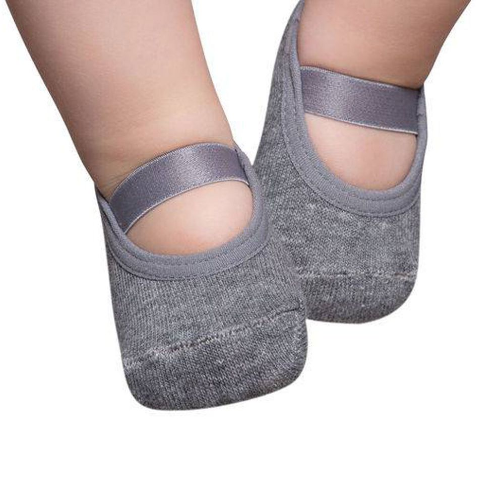 Basic baby ballerinas, Grey