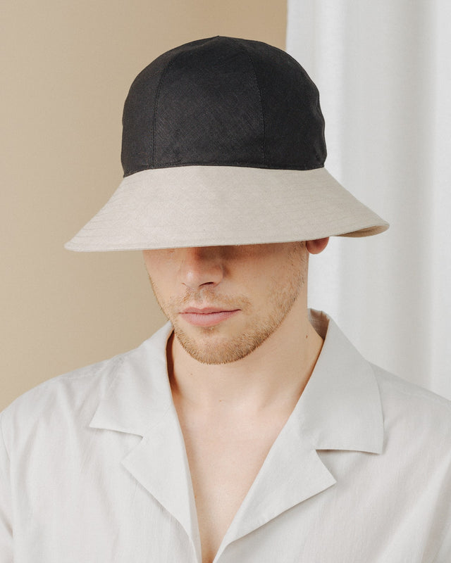 men wear sunhat