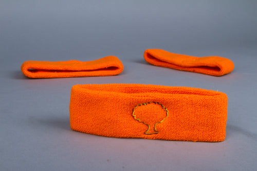 Orange tree logo Headband