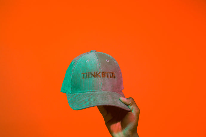 Courduroy thnkbttr hat