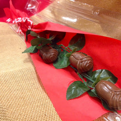 3 Pack Chocolate Roses