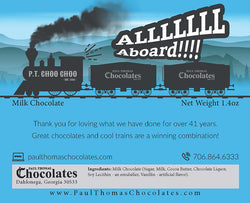 P.T. Choo Choo Chocolate Bar