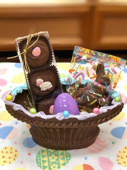 Small Fan Easter Basket
