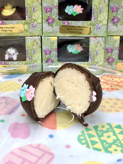Chocolate covered Easter Coconut eggs