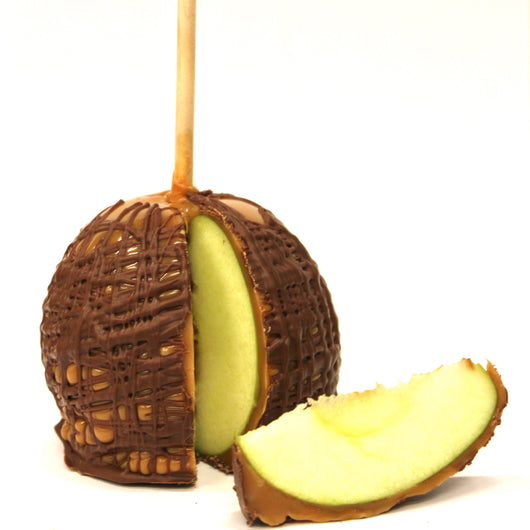 Chocolate Drizzled Apple