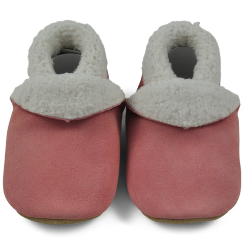 Baby Slippers - Pale Pink