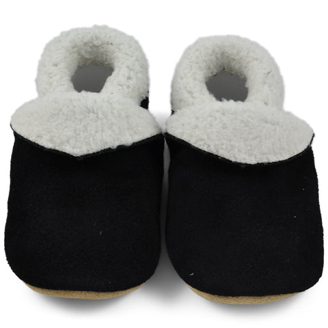 Baby Slippers - Black