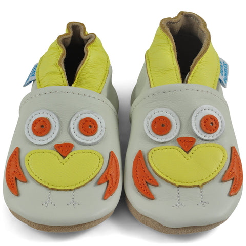 Baby Shoes Owl
