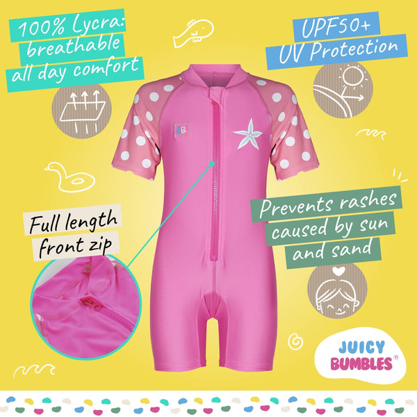 Baby Girl Swimming Costume & Swimsuit UPF50+