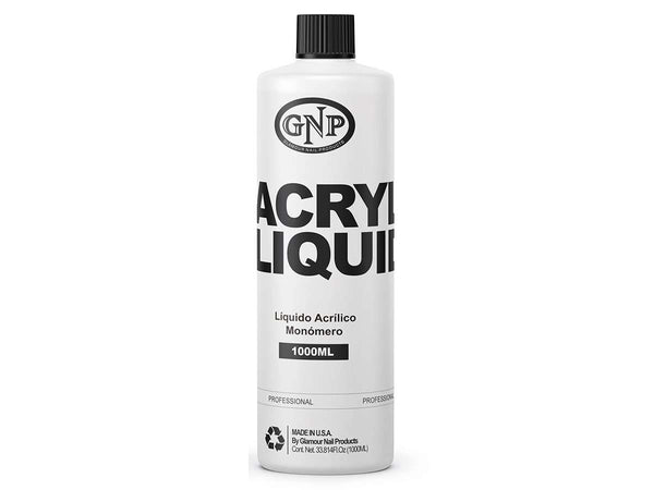 Liquido Acrilico GNP Profesional 1000ML Monomero en Beauty Supply