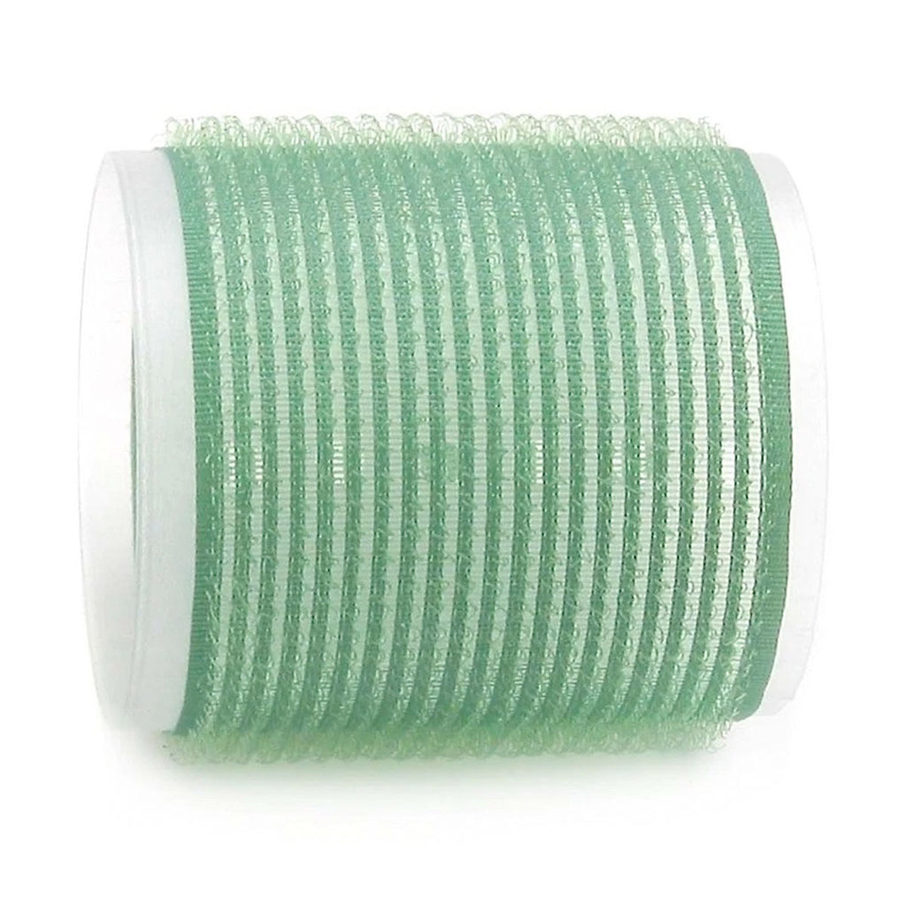 x12 Rulero de Velcro MEGA Verde 45mm en Beauty Supply