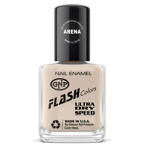 Esmalte FLASH Colors de GNP 15ML Arena Esmalte de Uñas GNP 15ML