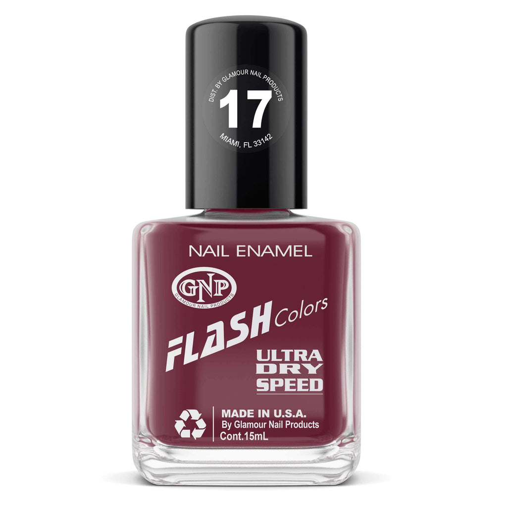 Esmalte FLASH Colors de GNP 15ML Nro.17 Esmalte de Uñas GNP 15ML