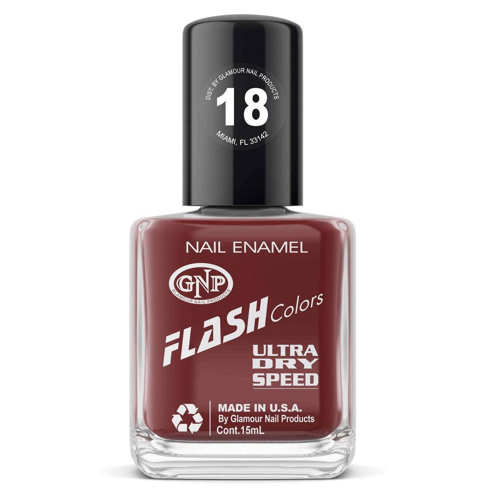 GNP Esmalte de Uñas 15ML Esmalte FLASH Colors de GNP 15ML Nro.18