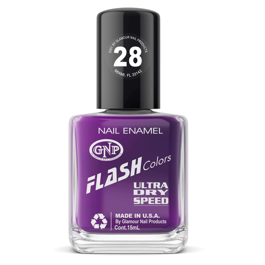 GNP Esmalte de Uñas 15ML Esmalte FLASH Colors de GNP 15ML Nro.28