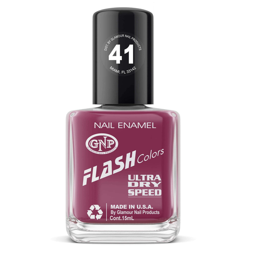 Esmalte FLASH Colors de GNP 15ML Nro.41 Esmalte de Uñas GNP 15ML
