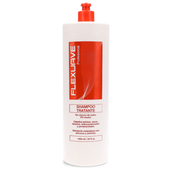 Shampoo Tratante sin sal Flexuave 1lt en Beauty Supply