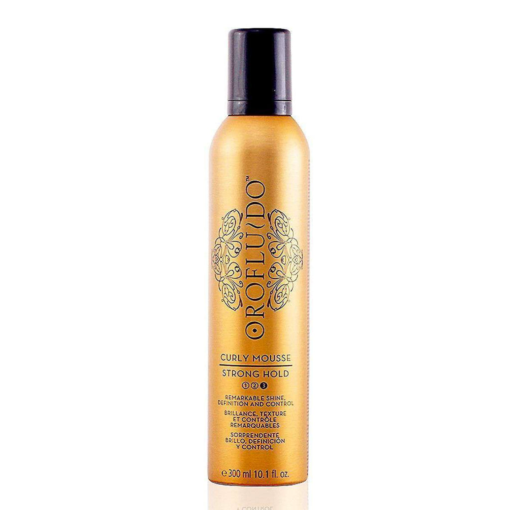 MOUSSE PARA RULOS CURLY OROFLUIDO REVLON 300ML