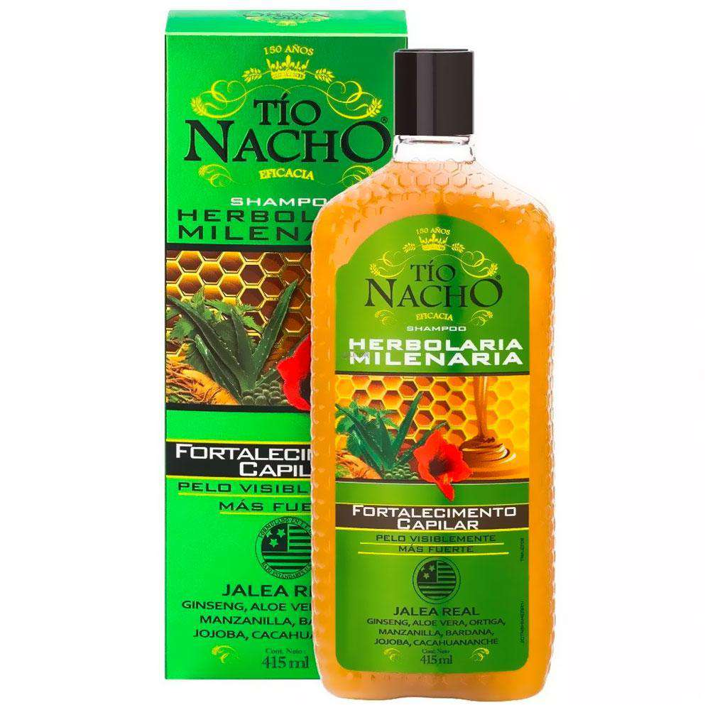 Shampoo Tío Nacho Anticaída Herbolaria 415ml en Beauty Supply