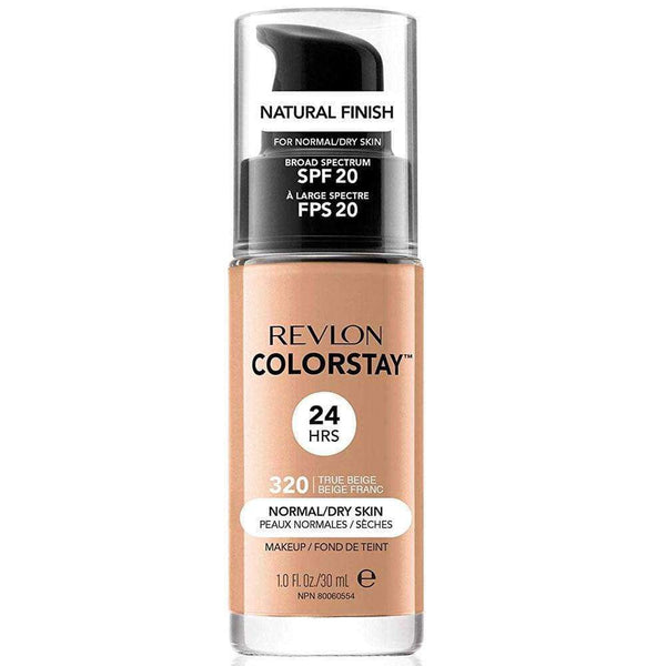 Base de Maquillaje Liquida Revlon Normal Dry Skin Medium Bei en Beauty Supply