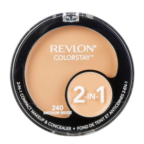 Base y Corrector Revlon Colorstay 2 In 1 Medium Beige REVLON