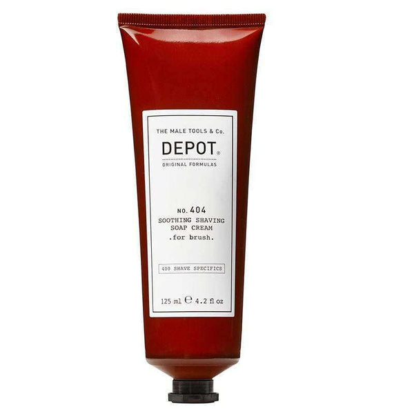 Crema de Afeitado Depot no.404 125ML p/Brocha hidrata en Beauty Supply