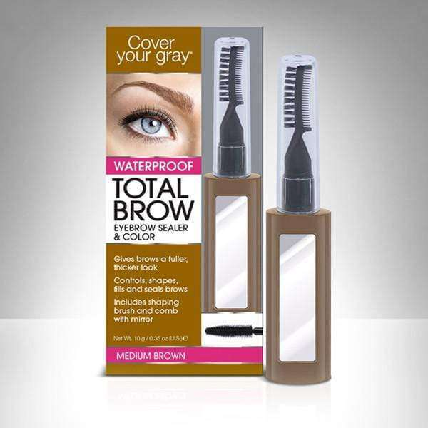AMINCO Group Cubre Canas de Cejas Marron Claro CoverYourGray