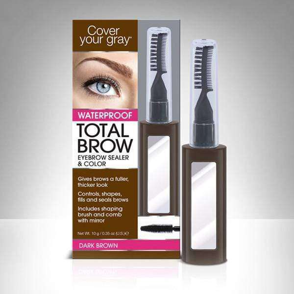AMINCO Group Cubre Canas de Cejas Marron Oscuro CoverYourGray