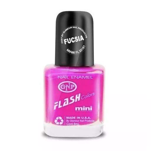 GNP Esmalte de Uñas Esmalte FLASH Colors de GNP 9ML Fucsia Fluo Summer