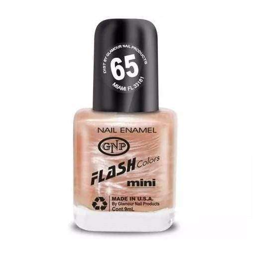 GNP Esmalte de Uñas Esmalte FLASH Colors de GNP 9ML Nro.65 Nacarado