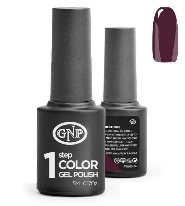 Esmalte Permanente en Gel GNP de un solo paso! #17 Purpura en Beauty Supply