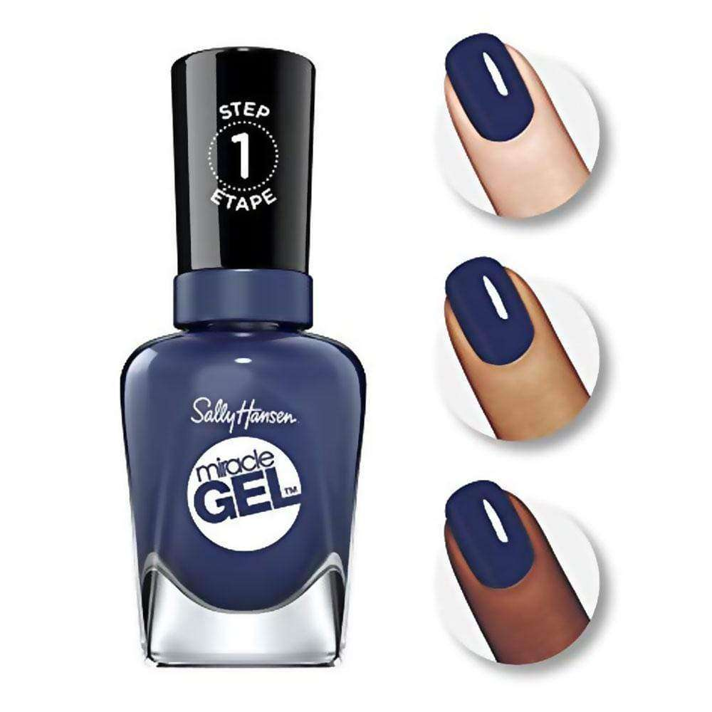 Sally Hansen Esmaltes Semipermanentes Sally Hansen Miracle Gel 609 Midnigth Mod