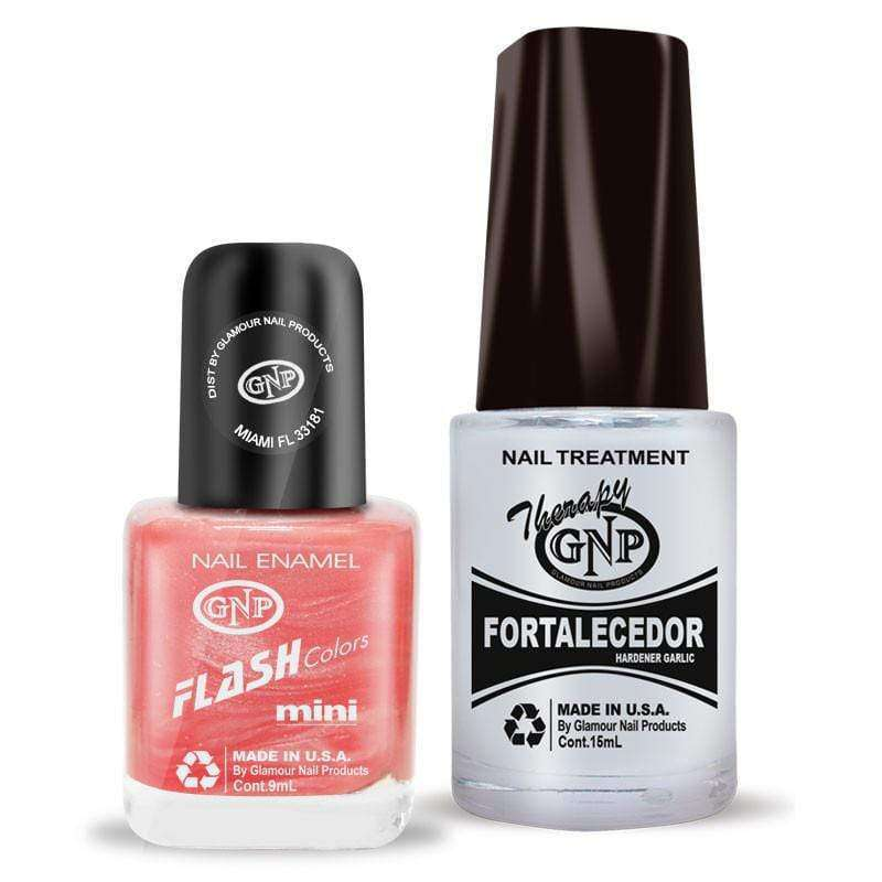 Fortalecedor de Ajo y Esmalte GNP 9ML Nro.24 Rosa Nacar en Beauty Supply