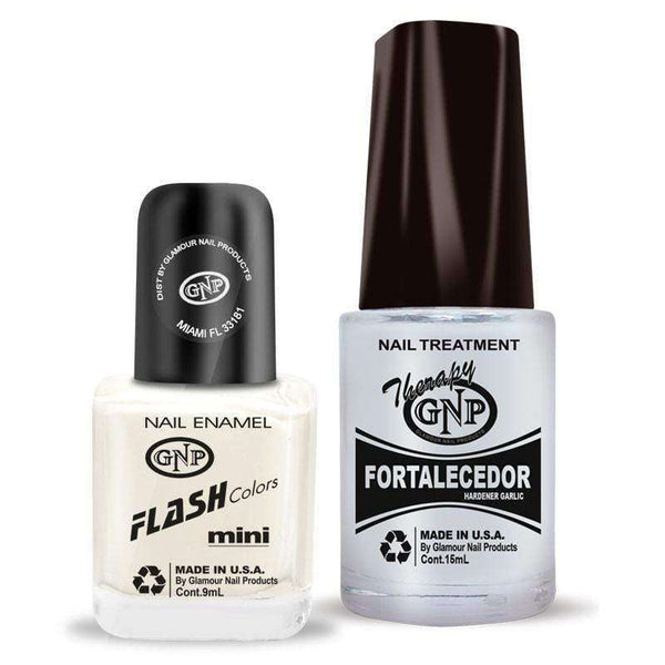 Fortalecedor de Ajo y Esmalte GNP 9ML Nro.31 Blanco French para Francesita en Beauty Supply